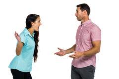 arguing couple Στοκ εικόνες με δικαίωμα ελεύθερης χρήσης