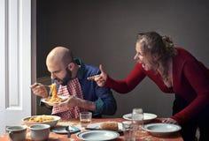 arguing couple Στοκ Εικόνα