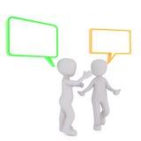 Arguing men concept Stock Photos
