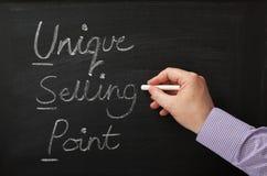 Argument de vente unique Photo stock