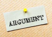 Argument  Message. Concept Image Stock Photos