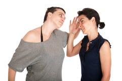 Argumentation de soeurs Photos libres de droits