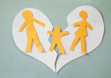 argumentera gravid kvinna för conflictfamiljman Arkivfoton