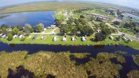 Argumentos de campo aéreos de Okeechobee del lago metrajes
