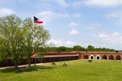 Argumentos de desfile de Pulaski de la fortaleza imagen de archivo libre de regalías