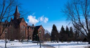 Argumentos del campus Fotografía de archivo
