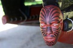 Argumentos del tratado de Waitangi Imágenes de archivo libres de regalías