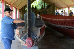 Argumentos del tratado de Waitangi Imagen de archivo