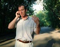 argumenty telefon Fotografia Stock