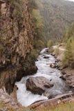 Argun River & x28;Caucasus& x29;, Georgia Royalty Free Stock Photo