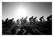 Argus-Radtour Stockbild