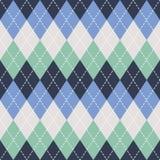 Argyle无缝的样式背景 传统颜色 对印刷品和网 免版税库存图片
