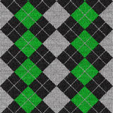 argyle模式 免版税库存照片
