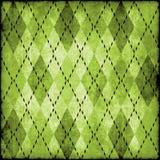 argyle脏的模式 免版税库存图片