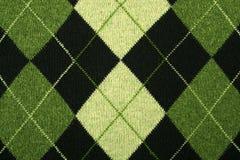 argyle πουλόβερ προτύπων Στοκ Φωτογραφίες