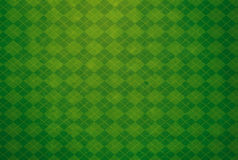Πράσινο κατασκευασμένο υπόβαθρο Argyle Στοκ φωτογραφία με δικαίωμα ελεύθερης χρήσης