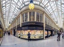 Argyle Arcade, Glasgow imagen de archivo