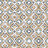 Argyle Art Colorful Diamond Geometric Pattern illustration libre de droits