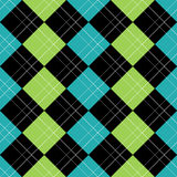 argyle błękitny eps wzór Obraz Stock