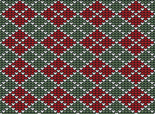 Argyle background pattern Stock Photography
