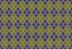 Argyle background pattern Stock Photos