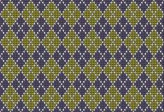 Argyle background pattern Stock Photos