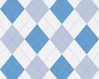 Argyle bleu illustration stock