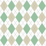 Argyle Check Pattern Image ilustración del vector