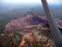 Argyle Diamond Mine Stock Foto