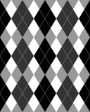 argyle eps灰色极谱模式 库存照片