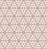 Argyle geometric and ripple seamless pattern Stock Photo