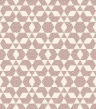 Argyle geometric and ripple seamless pattern Royalty Free Stock Images