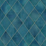 Argyle geometric watercolor art seamless pattern background stock illustration