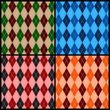 Argyle pattern Royalty Free Stock Photo
