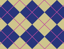 Argyle pattern stock illustration