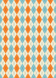 Argyle pattern Royalty Free Stock Images