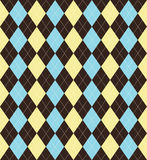 Argyle patterned background Royalty Free Stock Photo