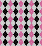 Argyle patterned background Royalty Free Stock Image