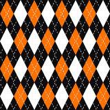 Argyle Plaid Pattern Stock Photo