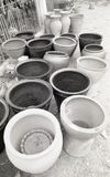 Argyle pots Royalty Free Stock Images