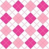 Argyle rosado Fotos de archivo