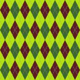 Argyle seamless pattern Stock Photo