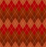 Argyle seamless pattern. Royalty Free Stock Photos