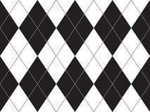 Argyle seamless pattern. Flat design. Vector illustration Stock Photo