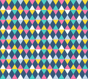 Argyle seamless pattern, four color options Royalty Free Stock Image