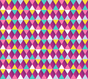 Argyle seamless pattern. Vector illustration. Royalty Free Stock Photos