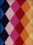 Argyle Sweater Background Stock Photo