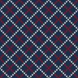 Argyle Sweater Design Configuration sans joint Photo stock