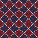 Argyle Sweater Design Configuration tricotée sans joint Photographie stock