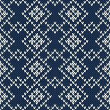 Argyle Sweater Design. Seamless Pattern Stock Image